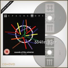 Depeche Mode - Sounds Of The Universe - CD-DVD