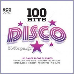 Disco - 100 Hits - 5 CD Βox, 3345rpm.gr