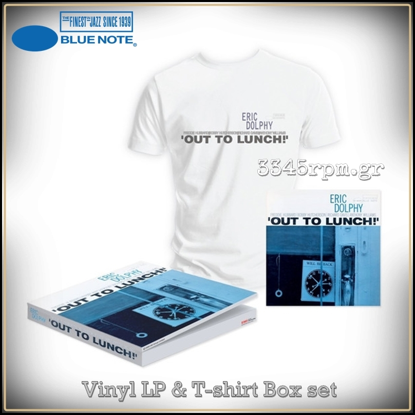Dolphy, Eric - Out To Lunch - Vinyl LP & T-shirt Box set