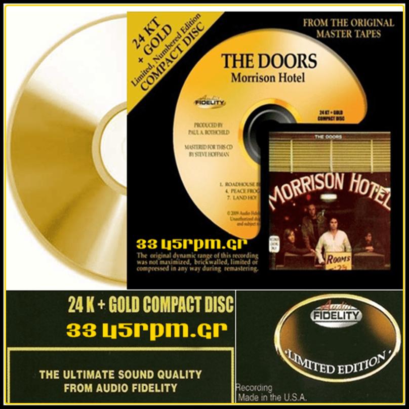 Doors - Morrison Hotel - 24K Gold CD-