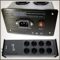 Dynavox P3500 HiFi Power Socket with Mains Filter 8 slots_