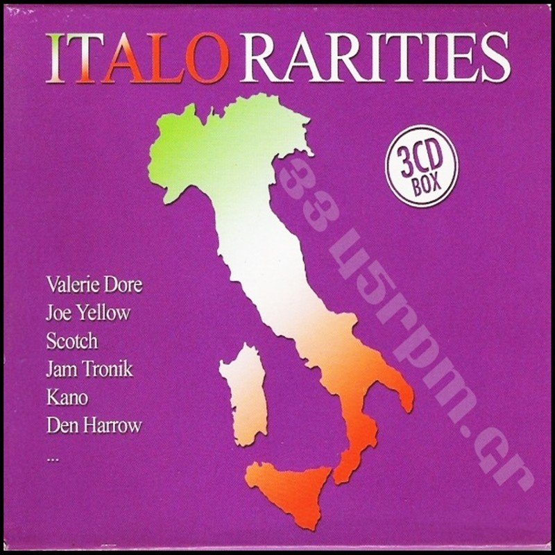 Italo Rarities - Box set 3cd Italo disco-