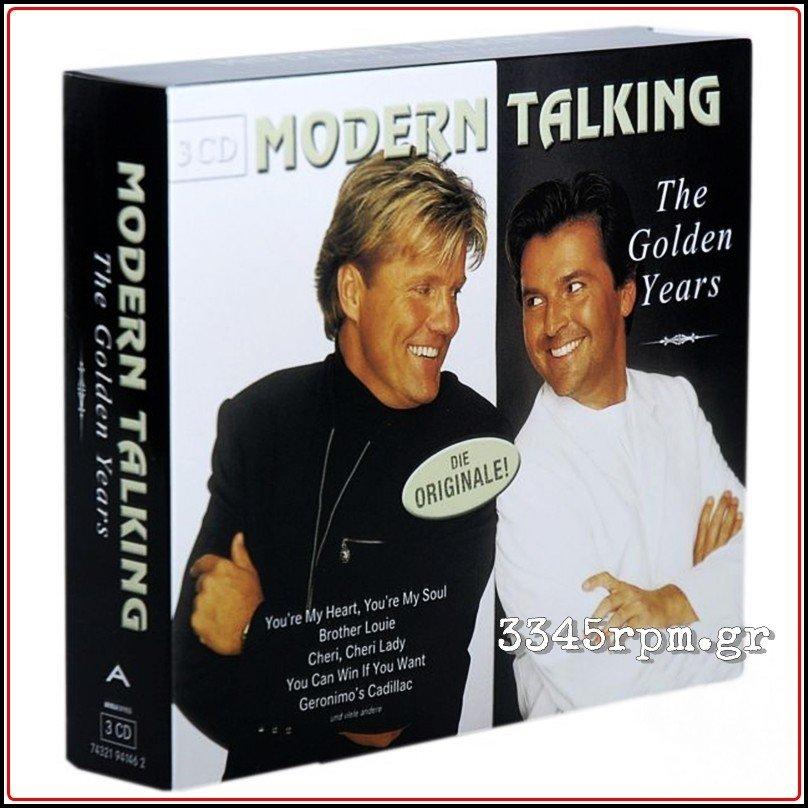 Modern Talking The Golden Years Best Of 3cd Box Set