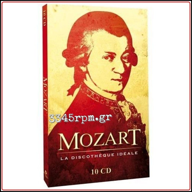 Mozart - La Discotheque Ideale - 10CD Box set, 3345rpm.gr