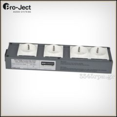 Project audio Connect it Power 4way 10A Power Strip Audiophile
