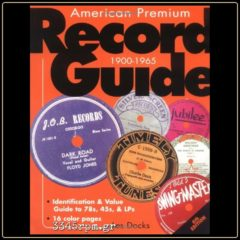 Record Guide 1900-1965 - Book for collectors of vinyl records
