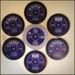 Rolling stones DECCA Coasters Box set 6