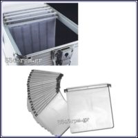 Storage Aluminum Hard Case for 1000CD-DVD, 3345rpm.gr