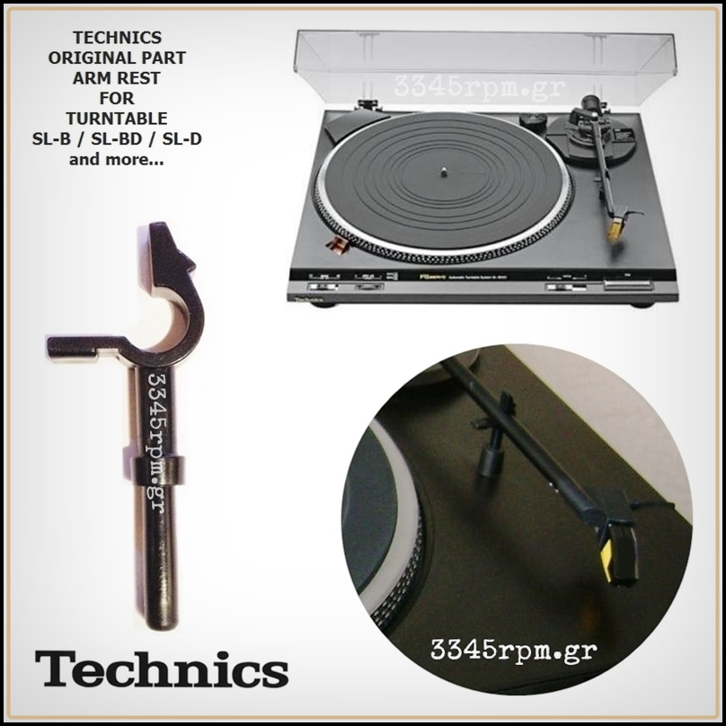 Technics SL-BD Turntable Tonearm Rest