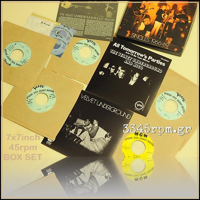 Velvet Underground Singles 1966 69 7inch Vinyl Box Set