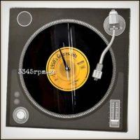 Vinyl Record 12inch_Wall Clock