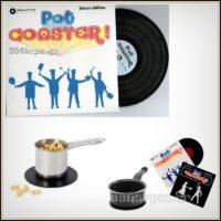 Vinyl Record Pot Coaster-15cm