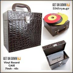 Vinyl Records Box 7inch - 45s Deluxe Case