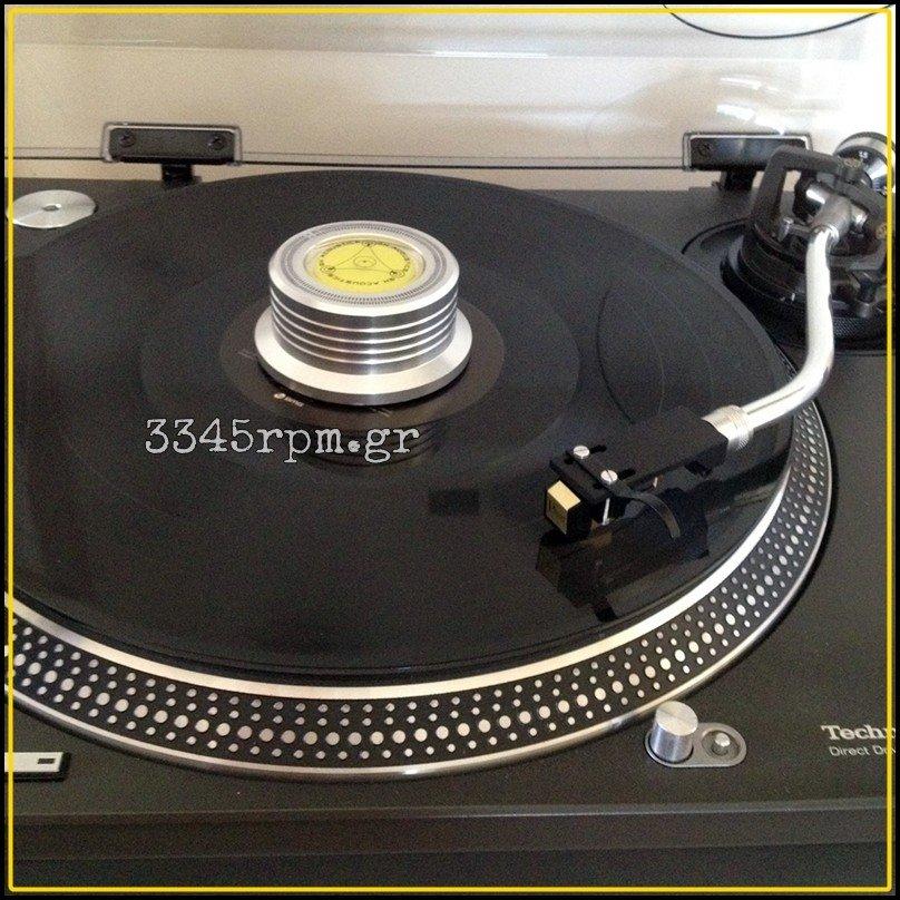 Vinyl aid VA301S - Turntable Disc Stabilizer - Record Clamp, 3345rpm.gr