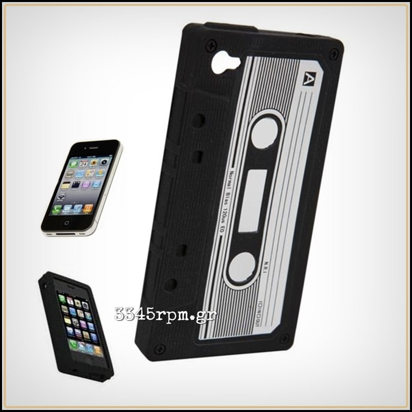 iPhone 4s Case Cover Cassette