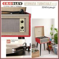 CROSLEY BERMUDA -Turntable 3345rpm.gr