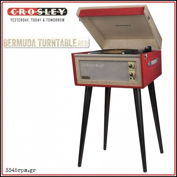 CROSLEY BERMUDA Turntable by 3345rpm.gr