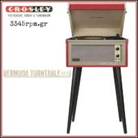 CROSLEY BERMUDA_Turntable 3345rpm.gr
