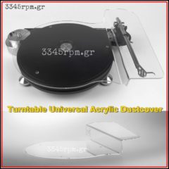 Turntable Universal Dustcover, 3345rpm.gr