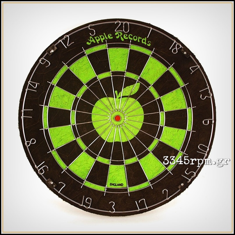 Beatles Apple Label Matchplay Dartboard_