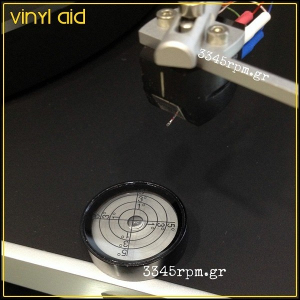 Turntable Bubble Level - Vinyl aid_3345rpm.gr