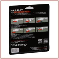 Crosley NP6 Replacement stylus_3345rpm.gr