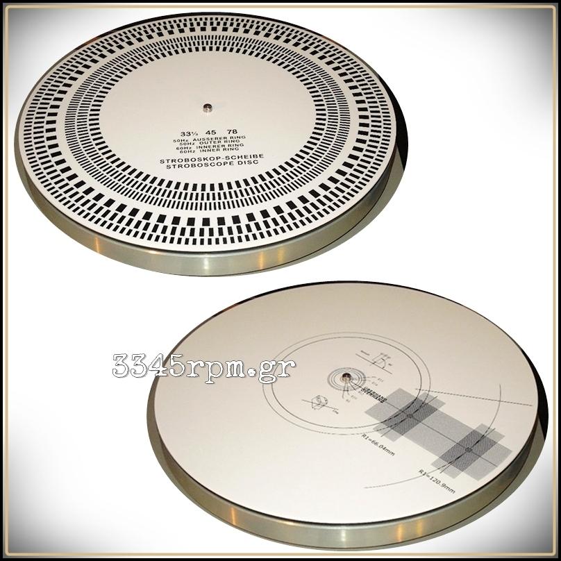 Cartridge Alignment Protractor Amp Stroboscopic Disc For