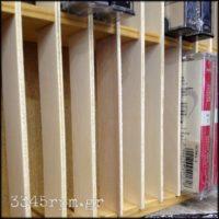 Cassette Tape Holder Storage Wooden Rack-Rack_30, 3345rpm.gr