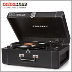 Crosley KEEPSAKE DELUXE, Portable USB Turntable, 3345rpm.gr