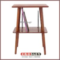 Crosley Manchester Turntable Stand - Paprika,3345rpm.gr