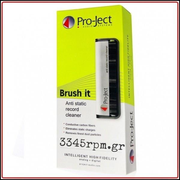 Pro-Ject Brush It_Carbon Fiber Record Brush, 3345rpm.gr