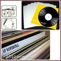 LP Vinyl Dividers, 3345rpm.gr
