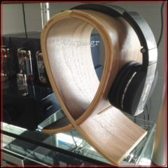 Wood Headphone Stand  Dynavox-KH 250, 3345rpm.gr
