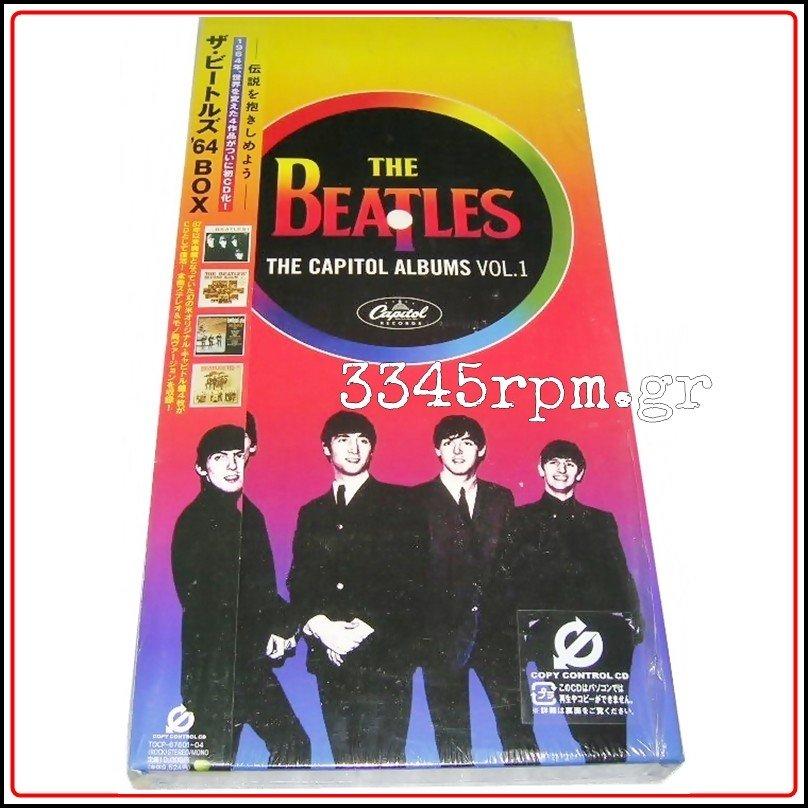 Beatles – The Capitol Albums Vol.1 - 4CD Box set Japan, 3345rpm.gr