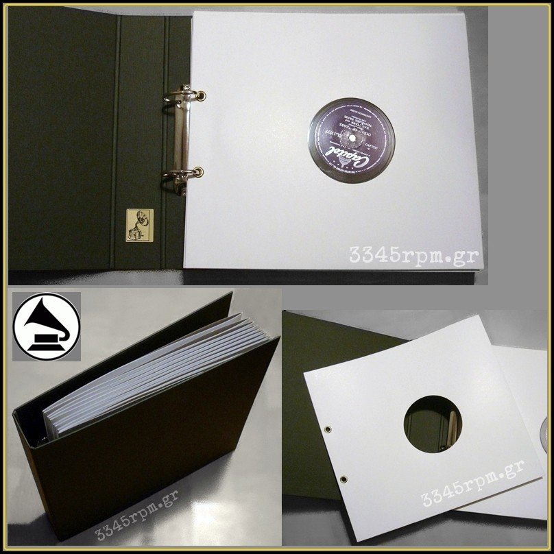 Storage Album Shellac U2013 Gramophone Records 78rpm U2013 10inch