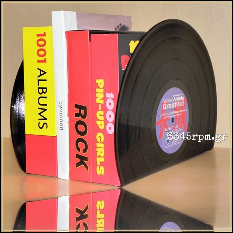 Vinyl Record 12inch Bookends
