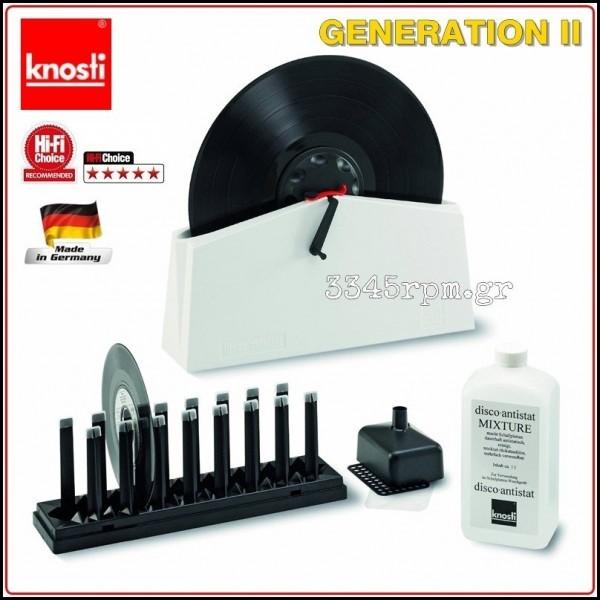 Κnosti Disco antistat - Generation II - Record cleaning machine,3345rpm.gr