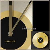 Gold Record 12 inch Wall Clock
