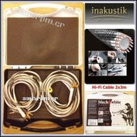 Inakustik Black & White LS -Speaker Cable, 3345rpm.gr