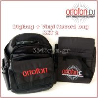 Ortofon Vinyl Records Bag - DJ Bag - Multi Bag (Set 2),  3345rpm.gr