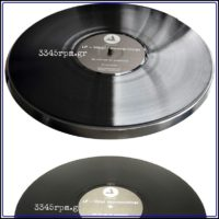 Vinyl Harmo-nicer - Clearaudio - Turntable Mat_3345rpm.gr