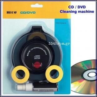 dvd cleaning machine