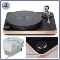 Clearaudio Concept Wood Turntable & MM V2 Cartridge, 3345rpm.gr