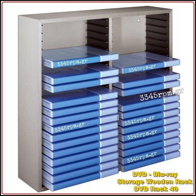 Dvd Holder Storage Wooden Rack Dvd Rack 40 3345rpm