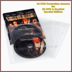 DVD Protection sleeves for 80 DVD & Booklet - Special Edition - Set 40, 3345rpm.gr