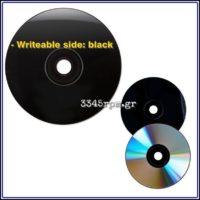 Digital Vinyl CD R x 700MB Vinyl Record Look- Set 5, 3345rpm.gr