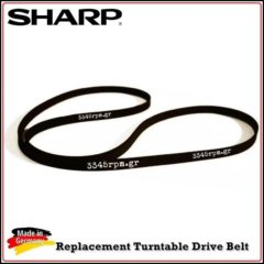 SHARP Turntable Drive Belt, 3345rpm.gr