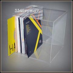 Storage Box 7inch 45rpm Vinyl Records - Clear Box 7