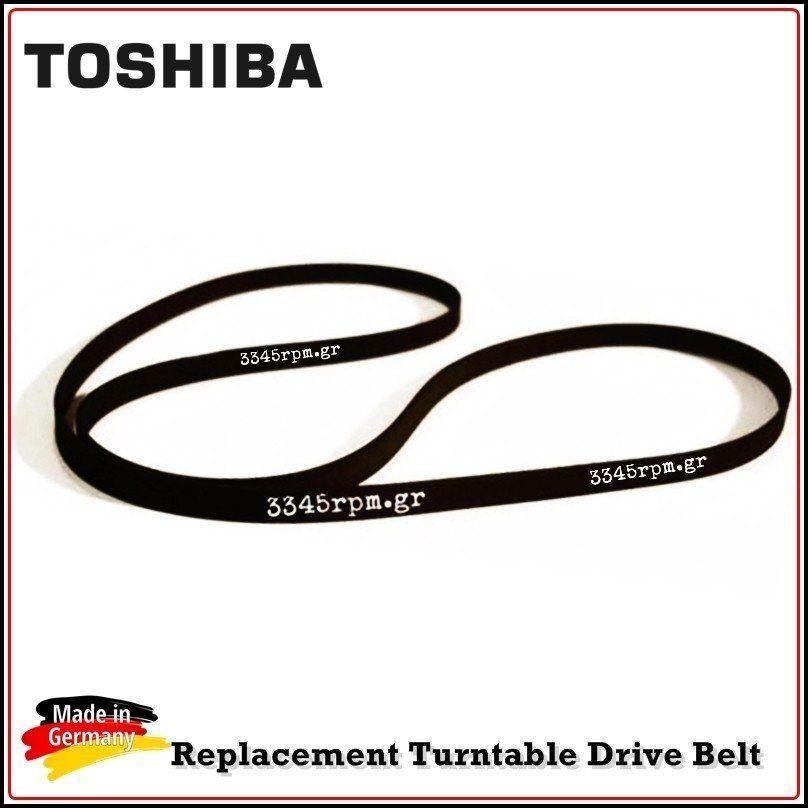 TOSHIBA Turntable Drive Belt, 3345rpm.gr