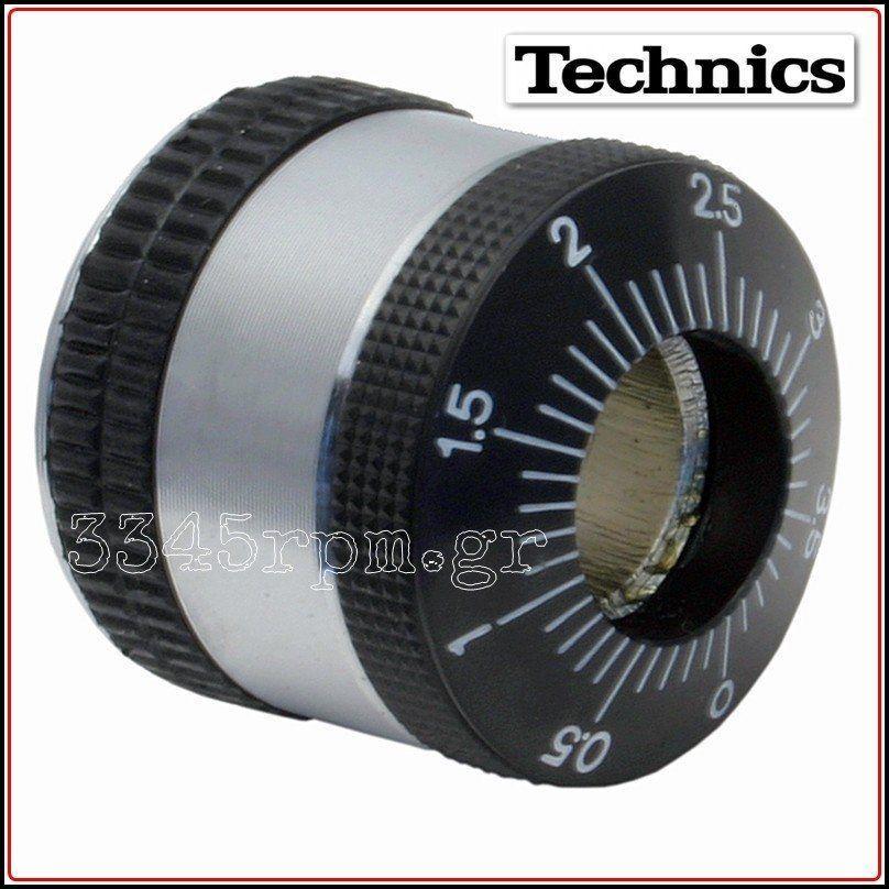 Technics SL-1200MK2 Tone Arm Counter Weight - Balance Weight, 3345rpm.gr